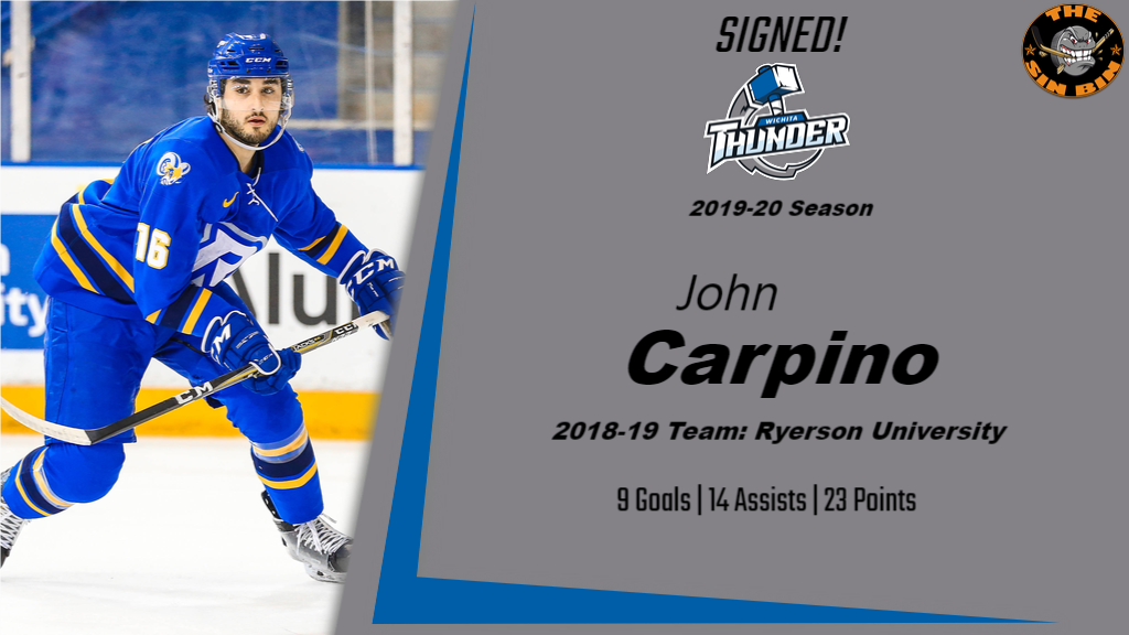 John Carpino Statboard