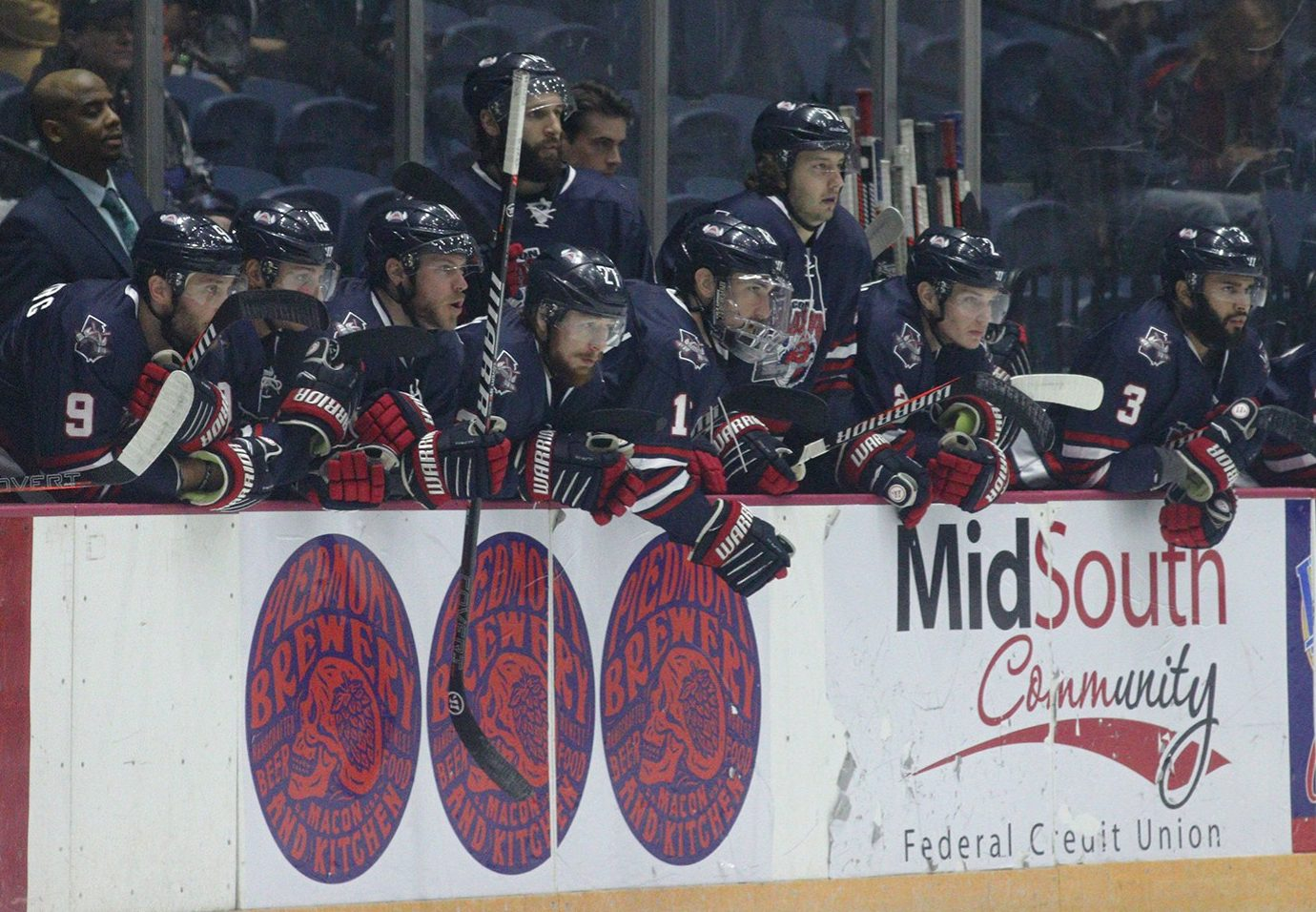 Macon Mayhem Professional Hockey at the Macon Coliseum.