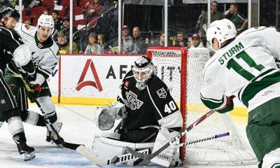 Strand of Two Goals Too Much for Wild, 3-2