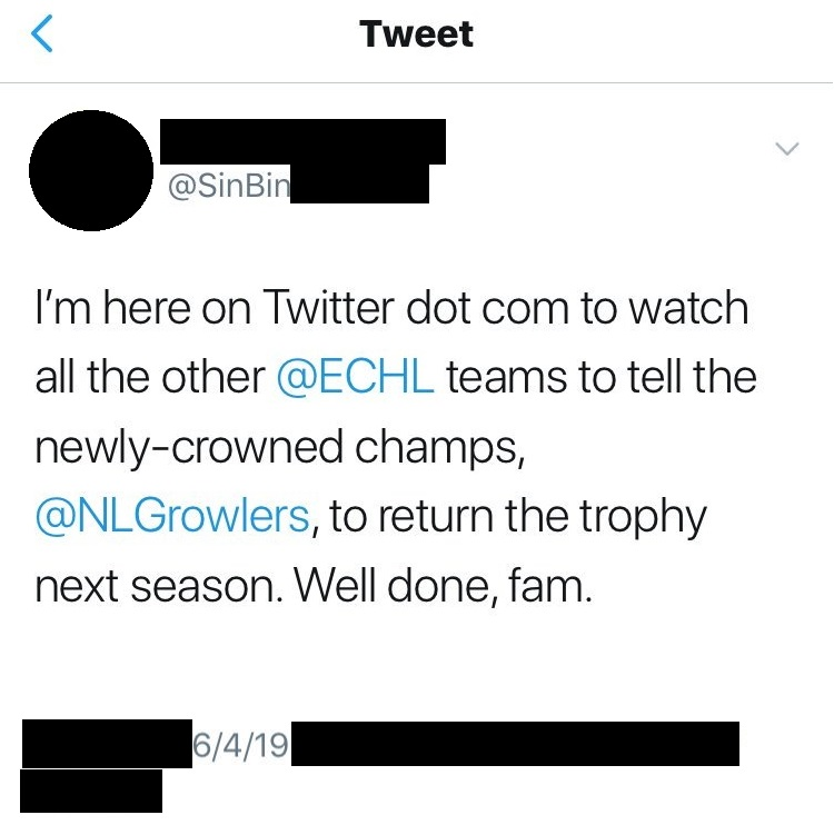 Telling NFL to Return the Cup