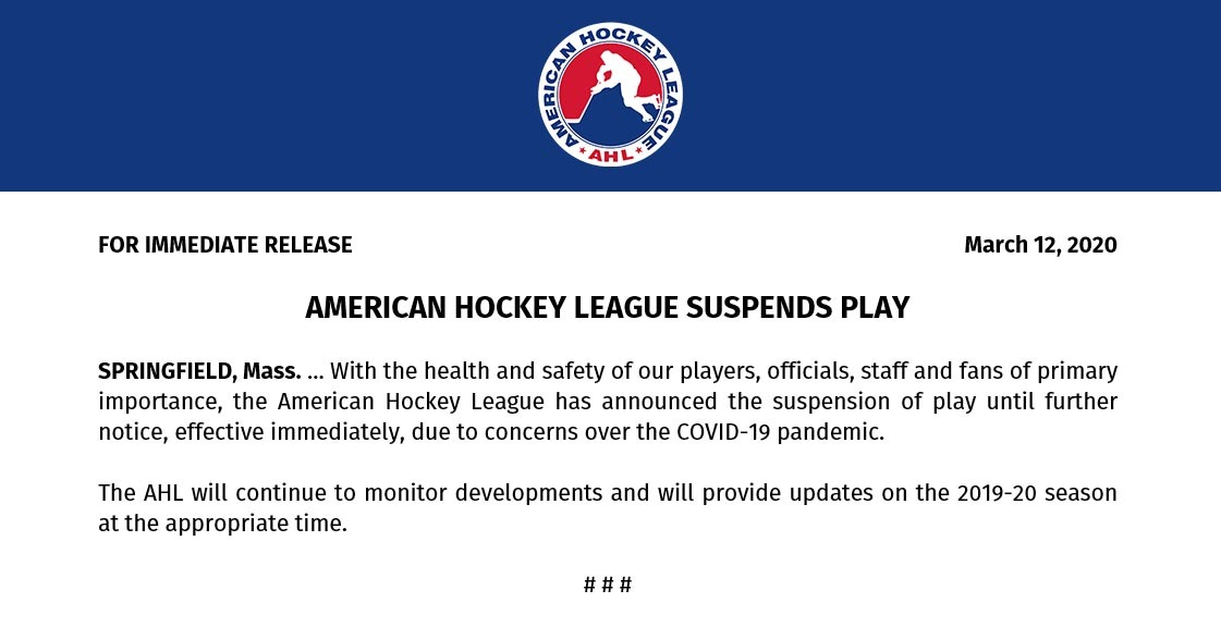 AHL-suspends