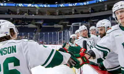 Anas, Wild Set Franchise Records in Victory over Moose