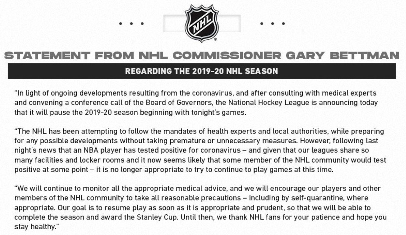 NHL suspends