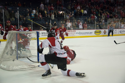 Downing game tying goal Sauer