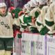 Dewar Scores Two Goals to Lead Wild Past Grffins