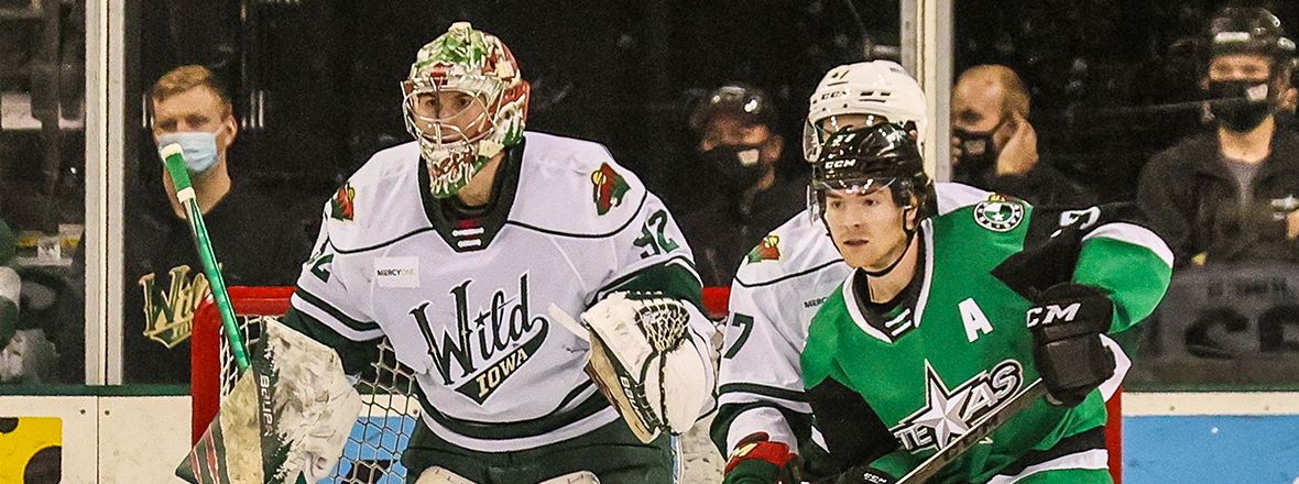 Jones Records First Professional Shutout in Wild Victory