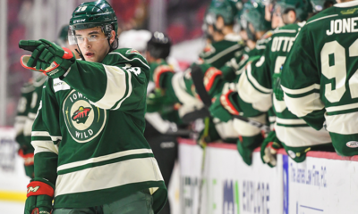 Shaw, Bitten Lead Wild to Victory over IceHogs